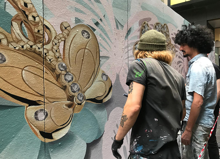 Mural artists in Melbourne